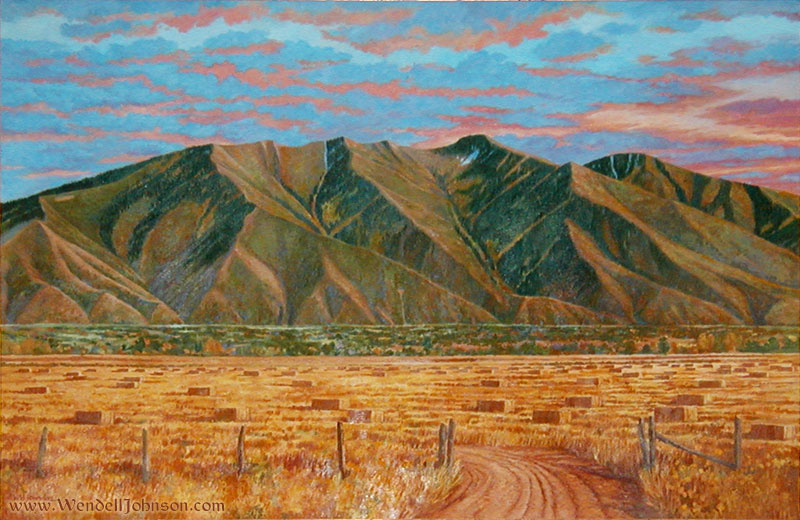 Maple Mountain at Dawn by Wendell B. Johnson